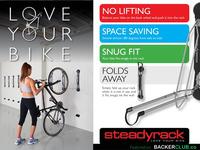 Steadyrack Bike Rack - Love Your Bike