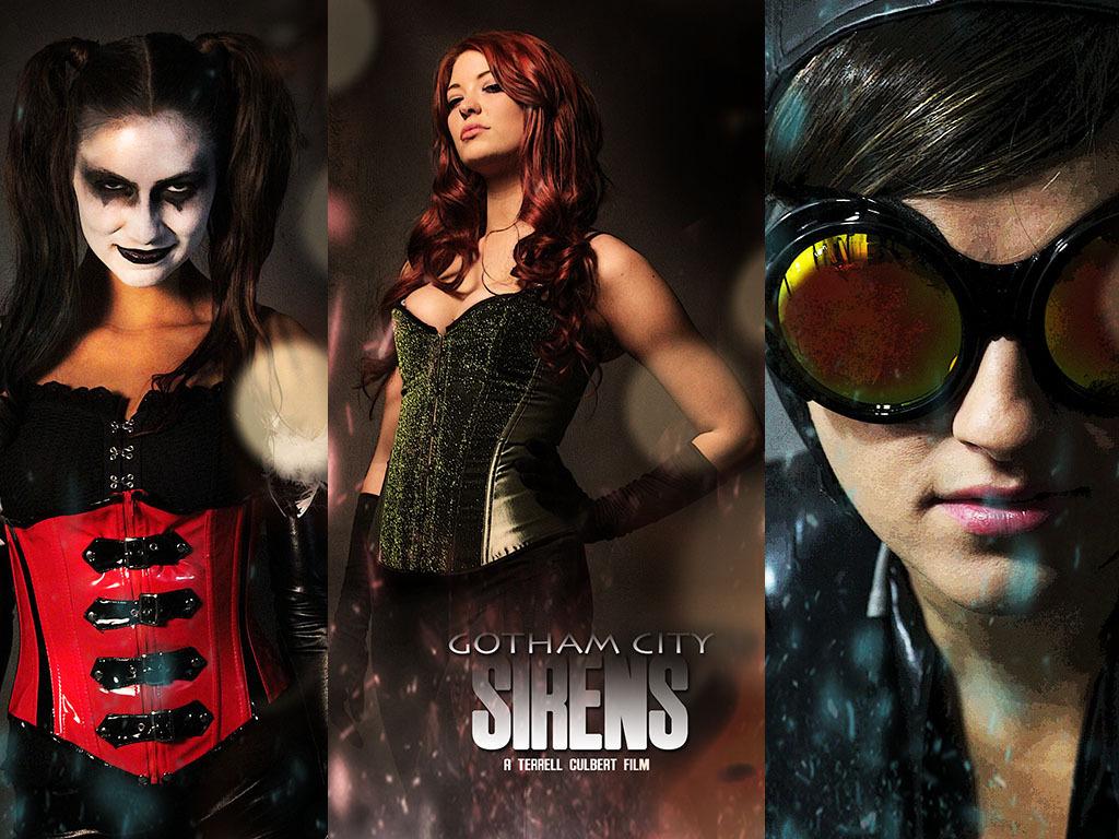 "Gotham City Sirens ""Fan Film""'s video poster"