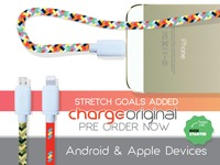 ChargeOriginal durable USB cable longer & fast charging!