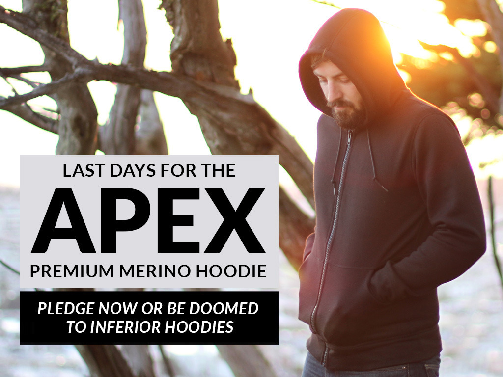 Apex: A Premium Merino Hoodie for Just $95's video poster
