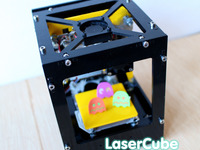 Laser Cube - An Enjoyable Laser Engraver and Cutter