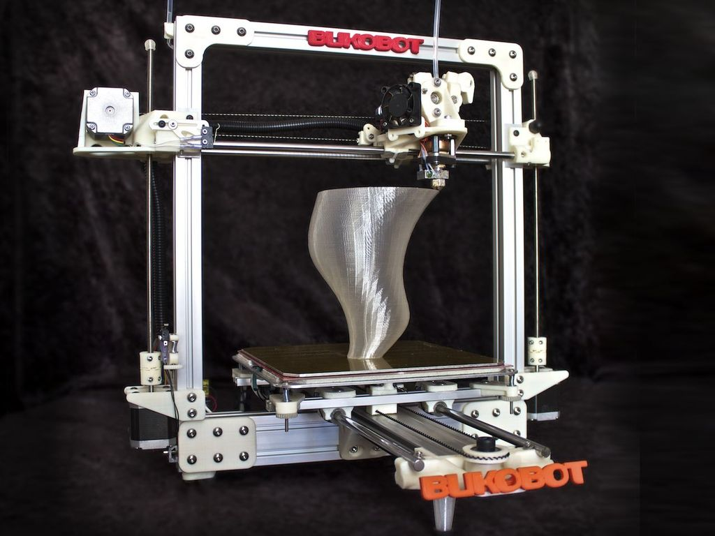 Bukobot 3D Printer - Affordable 3D with No Compromises!'s video poster