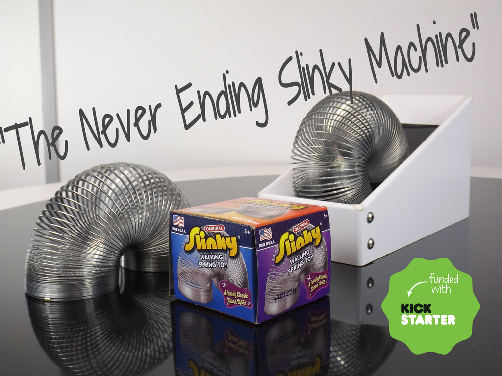 Project NESM | Never Ending Slinky Machine's video poster