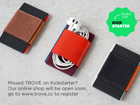 TROVE: The Ultimate Slim Wallet & Card Case