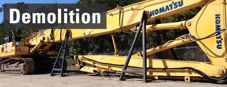 Used Demolition Equipment For Sale