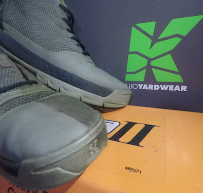 9151553a5d5cc5 bladez_lawn_care Well we ran these shoes right into the dirt the last two  months. Wanted to just show some shots of the durability @kujoyardwear has  when ...