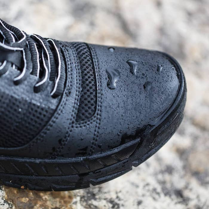 Water resistent shoes for tour guides