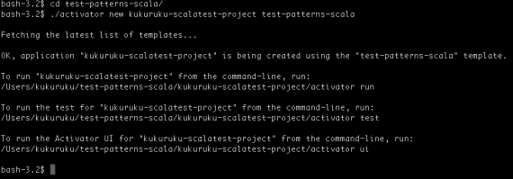 Introduction to Writing Tests with ScalaTest