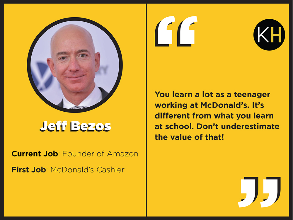 Need Motivation Peep The First Jobs Of These 12 Super Successful People