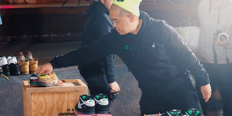 online store eef38 0751a Jeff Staple's new 'Panda Pigeon' Dunks are a testament to ...