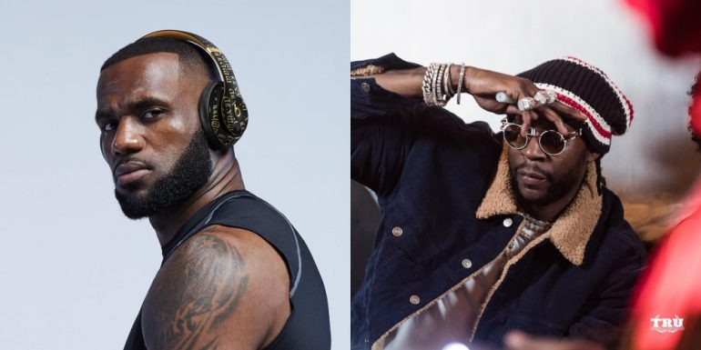 LeBron tapped as A&R on new 2 Chainz album, 'Rap or Go to