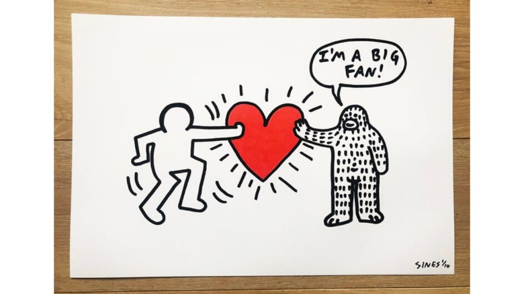 Brandon Sines Keith Haring