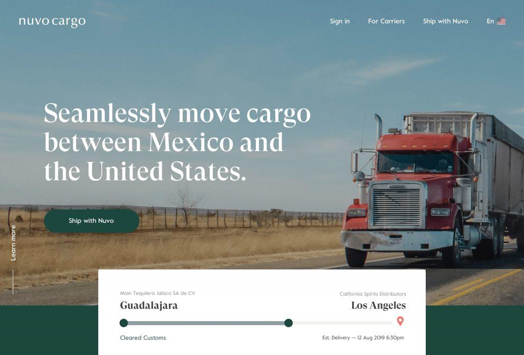 nuvocargo latin america shipment tracking