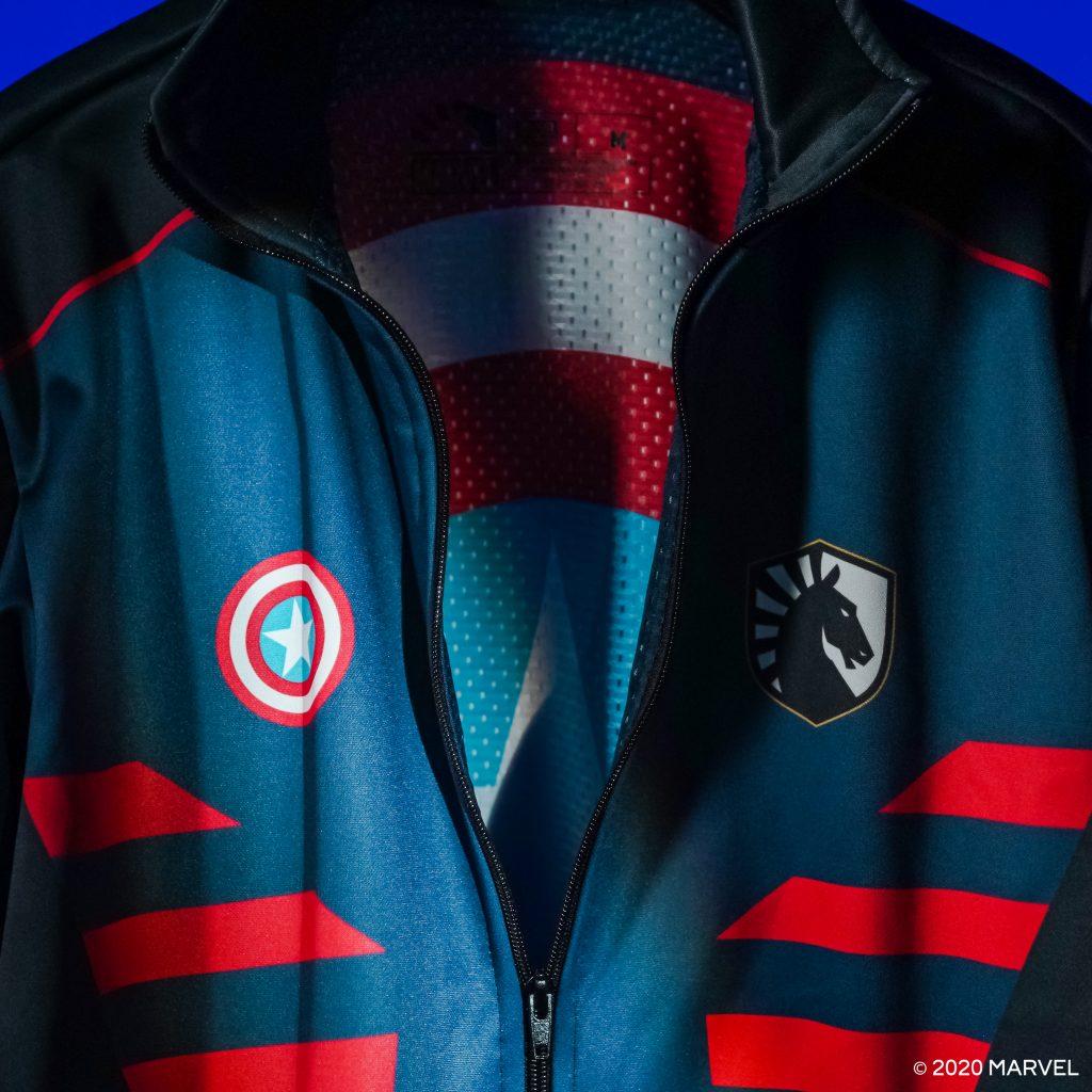 Team Liquid Captain America