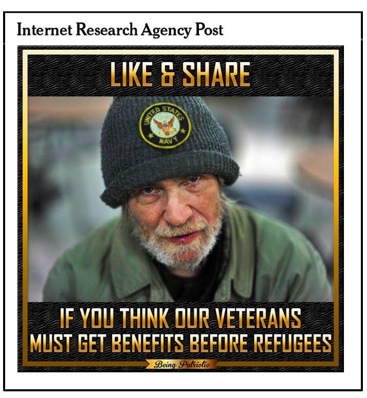 Facebook Ads propaganda