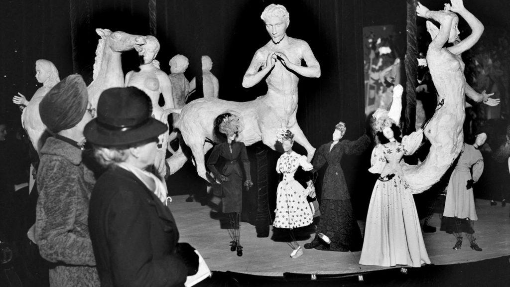 "Image of the ""Theatre De La Mode."" Dior.com"