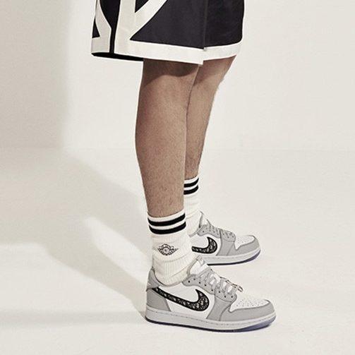 Dior Air Jordan 1s low. Photo courtesy of Dior.