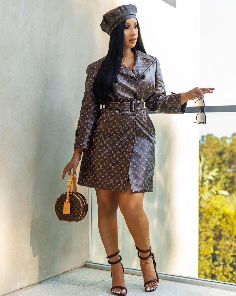 Cardi B  top five beautiful women cuffing season