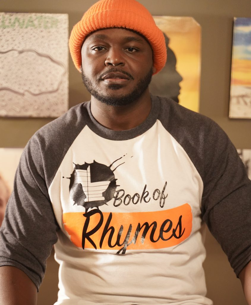 longest freestyle rap and Book of Rhymes author Romane Armand