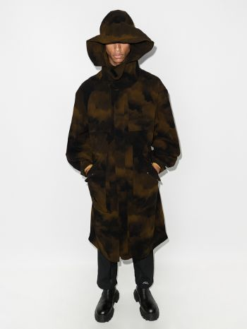 A-COLD-WALL* Camouflage Print Coat