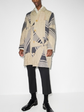 By Walid  Rico Patchwork Coat