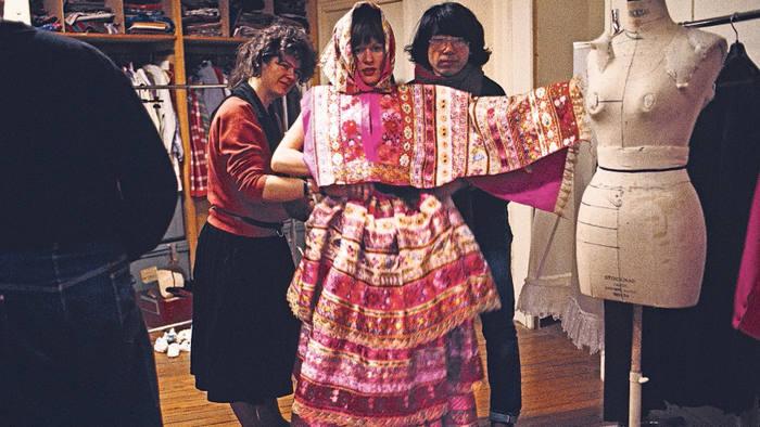 Kenzo wedding dress AW 1982/83 © Kazuko Masui and Mamoru Sakamoto