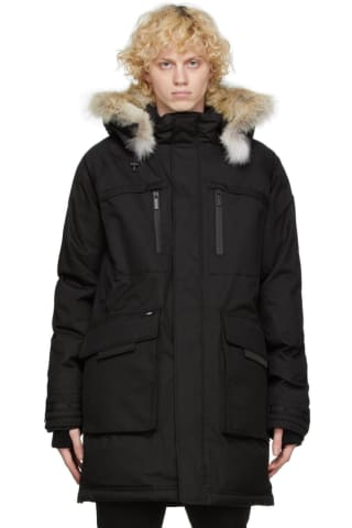 Nobis Black Down Kalvin Jacket
