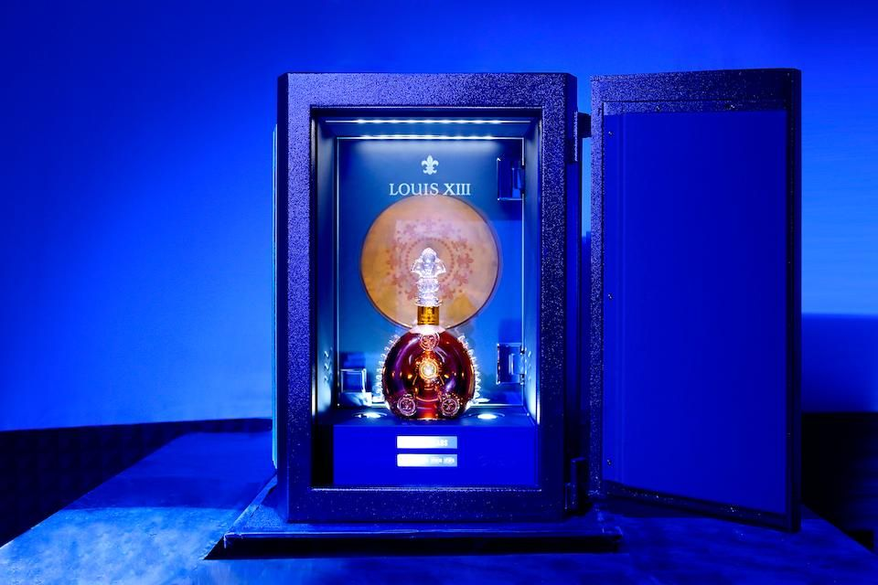 """The Louis XIII safe that will house the Pharrell Williams recording of the song """"100 Years"""" to be opened in 2117 CREDIT: COURTESY OF LOUIS XIII"""