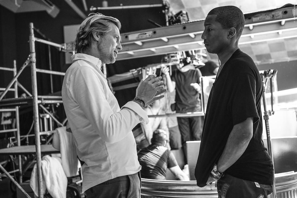 Ludovic du Plessis and Pharrell Williams  CREDIT: COURTESY OF LOUIS XIII