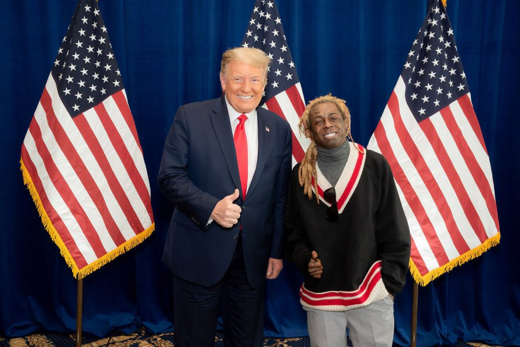 lil wayne supporting trump