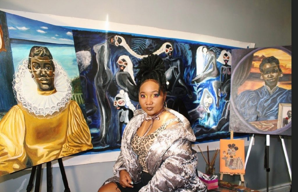 Gherdai Hassell Is Coloring A Narrative For Black Women Through Her Collage Art
