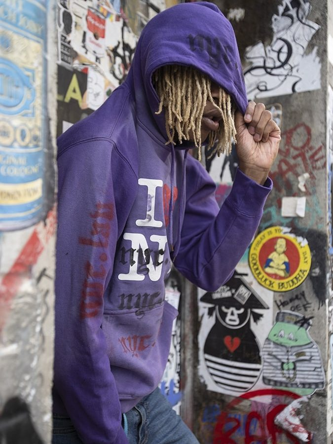nyc.lav one of one hoodie