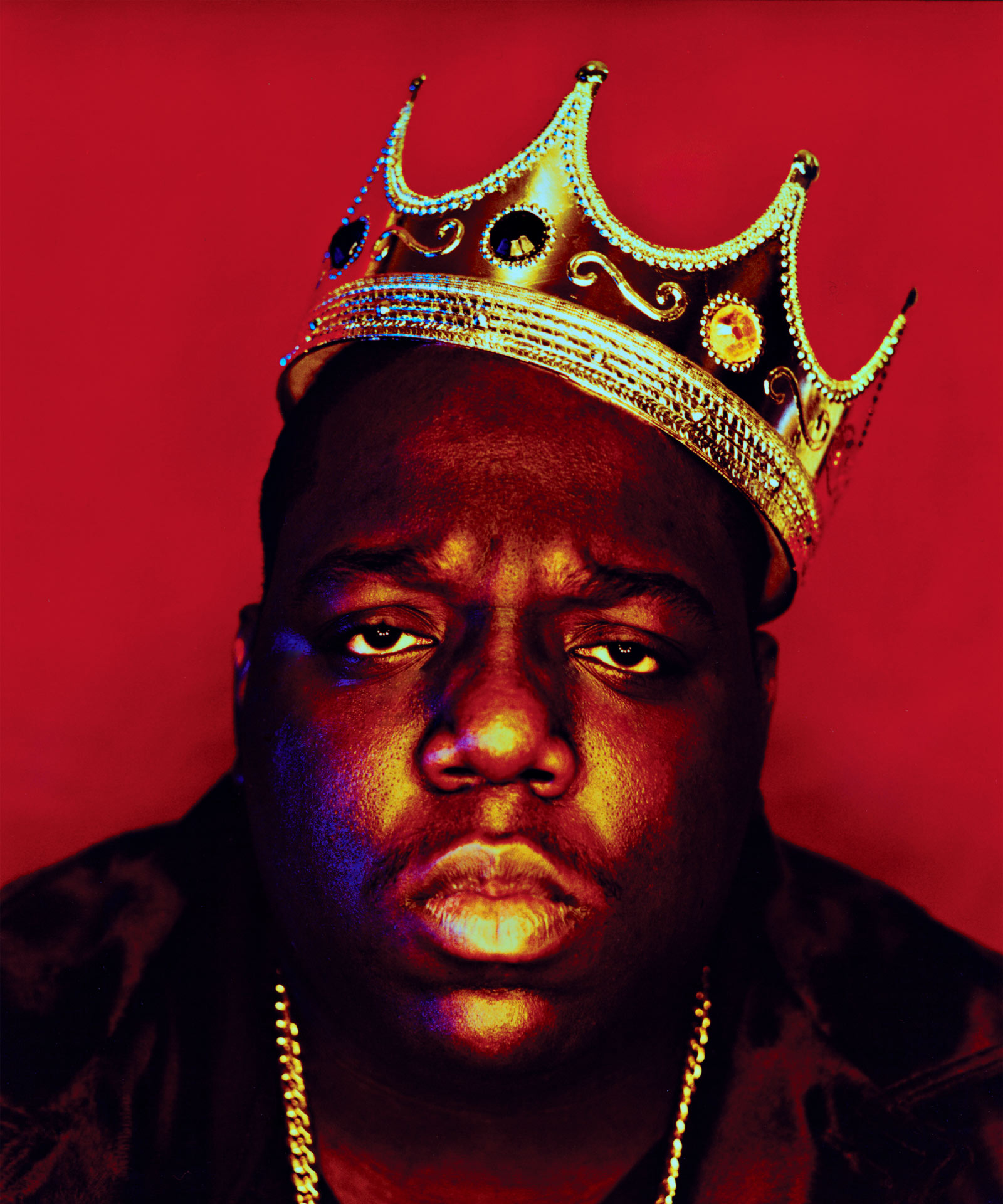 late biggie photographed