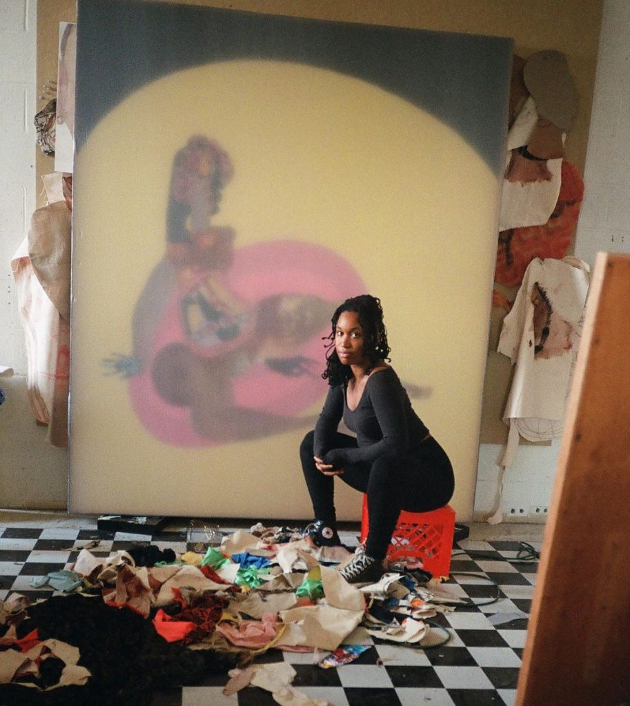 Tschabalal Self PHOTO by Christian Defonte. Black art curation