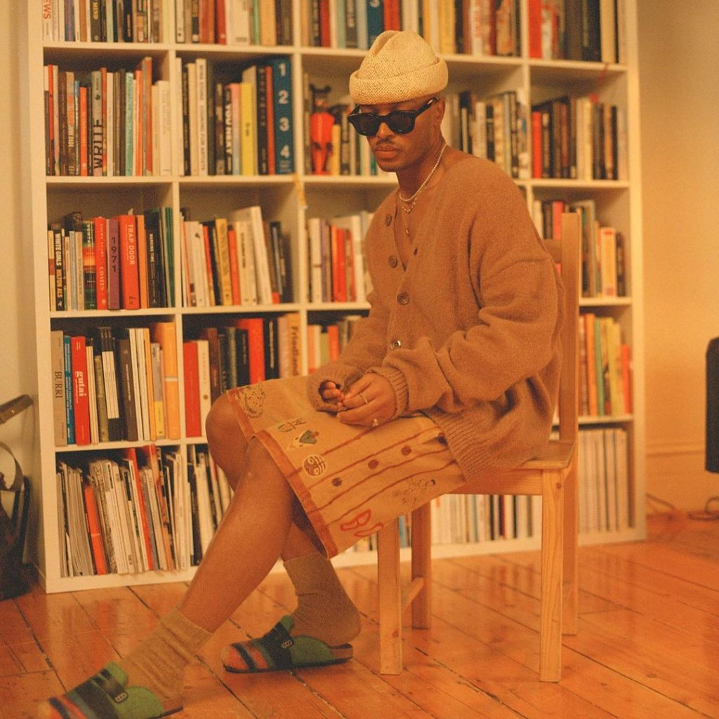 `Anttwuan Sargent, author of The New Black Vangaurd. PHOTO: Eric Chakeen. Black art curation