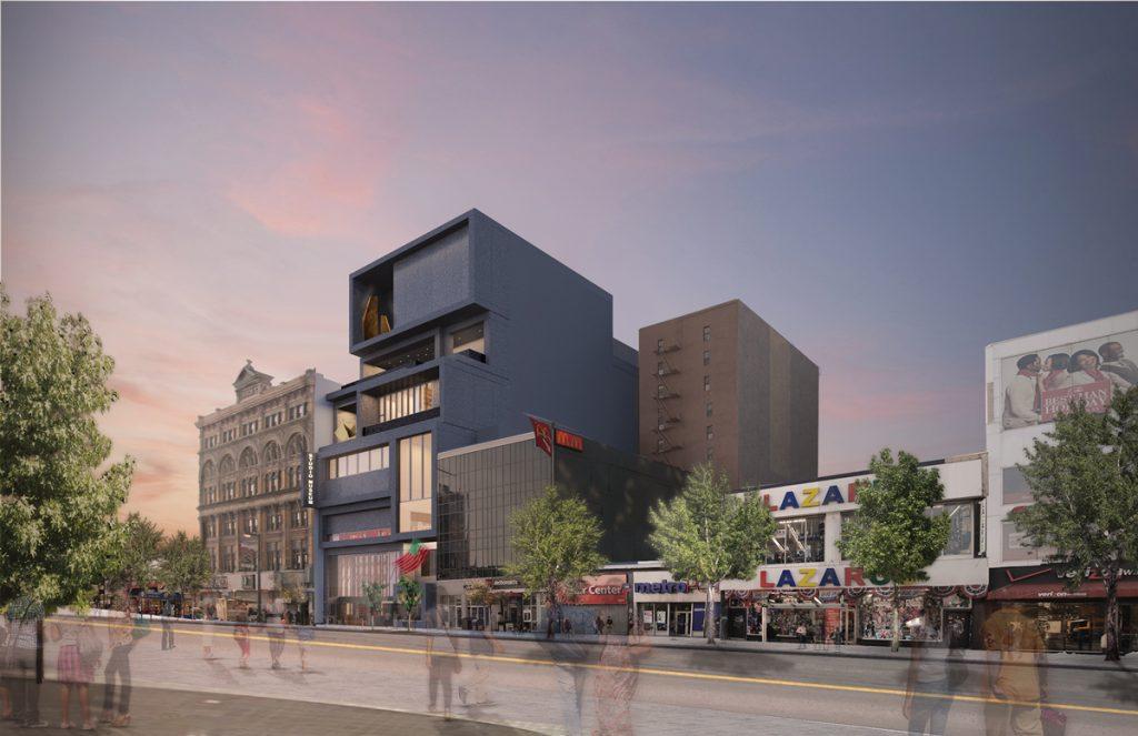 Studio Museum rendering of their new building. PHOTO: ADJAYE ASSOCIATES.