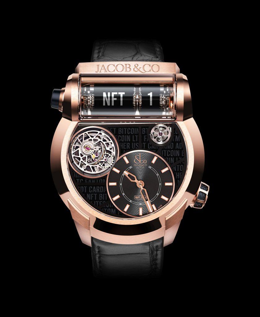NFT luxury watch