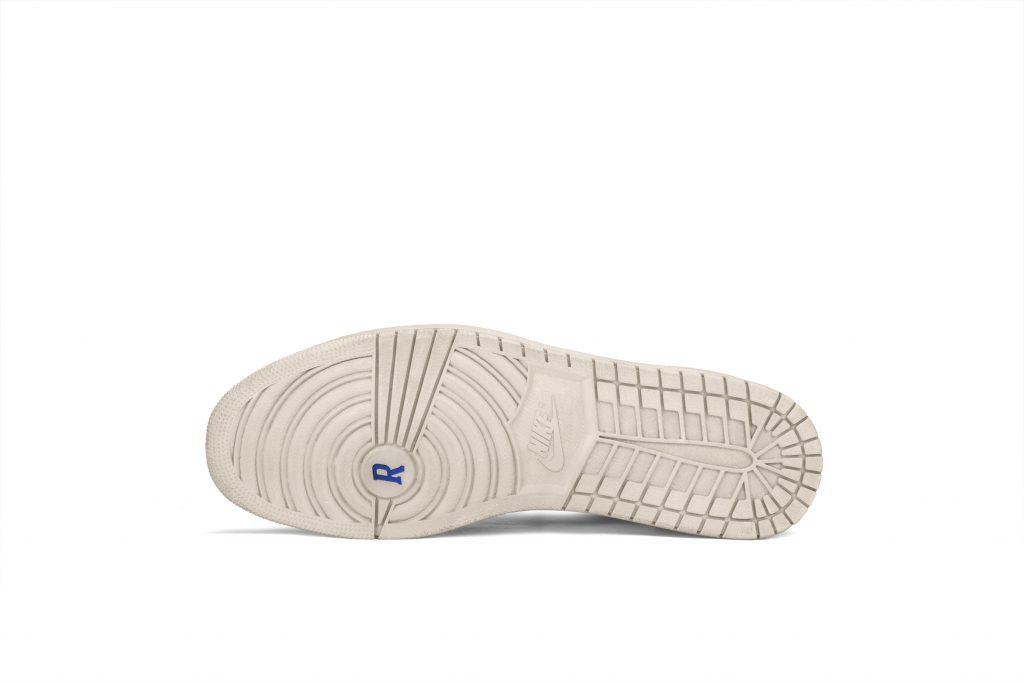 ruffles sneaker bottom