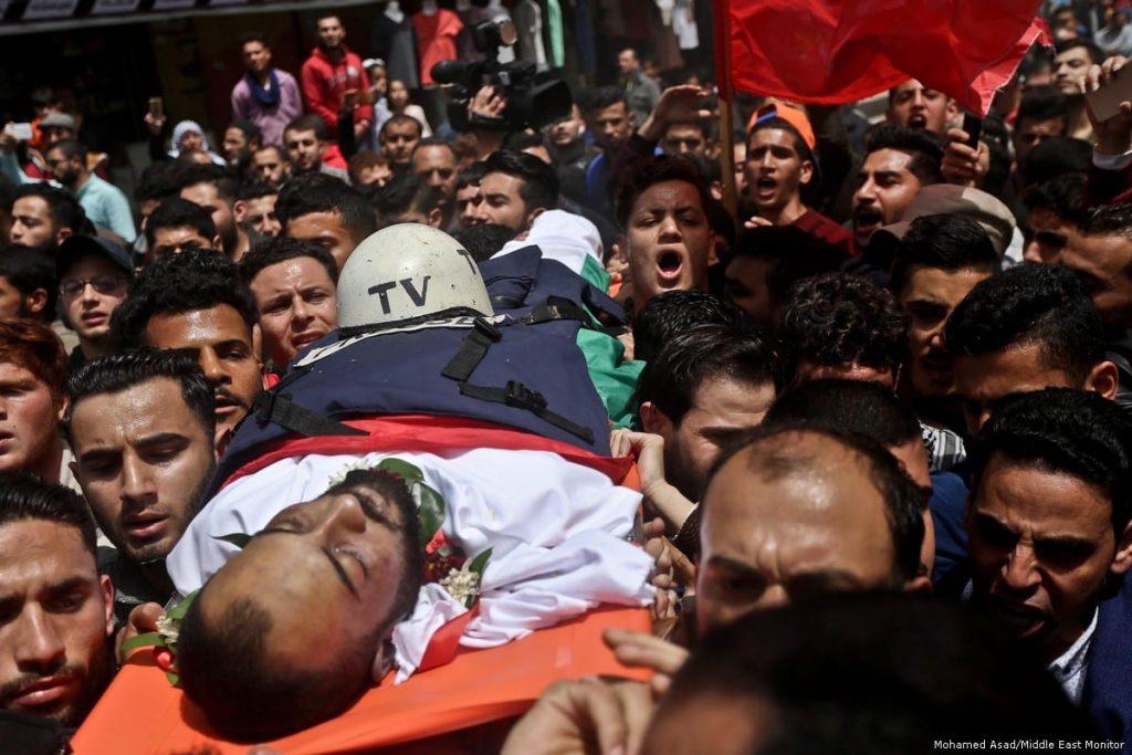 palestinian journalists