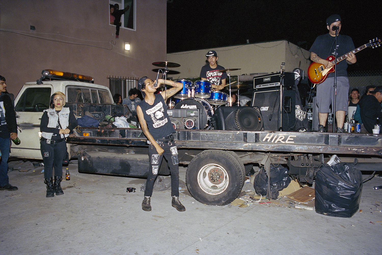 punk rock scene