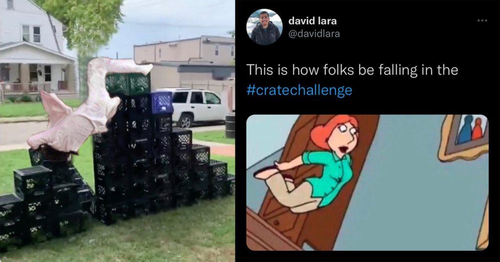 crate challenge meme