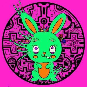 trippy bunny nft