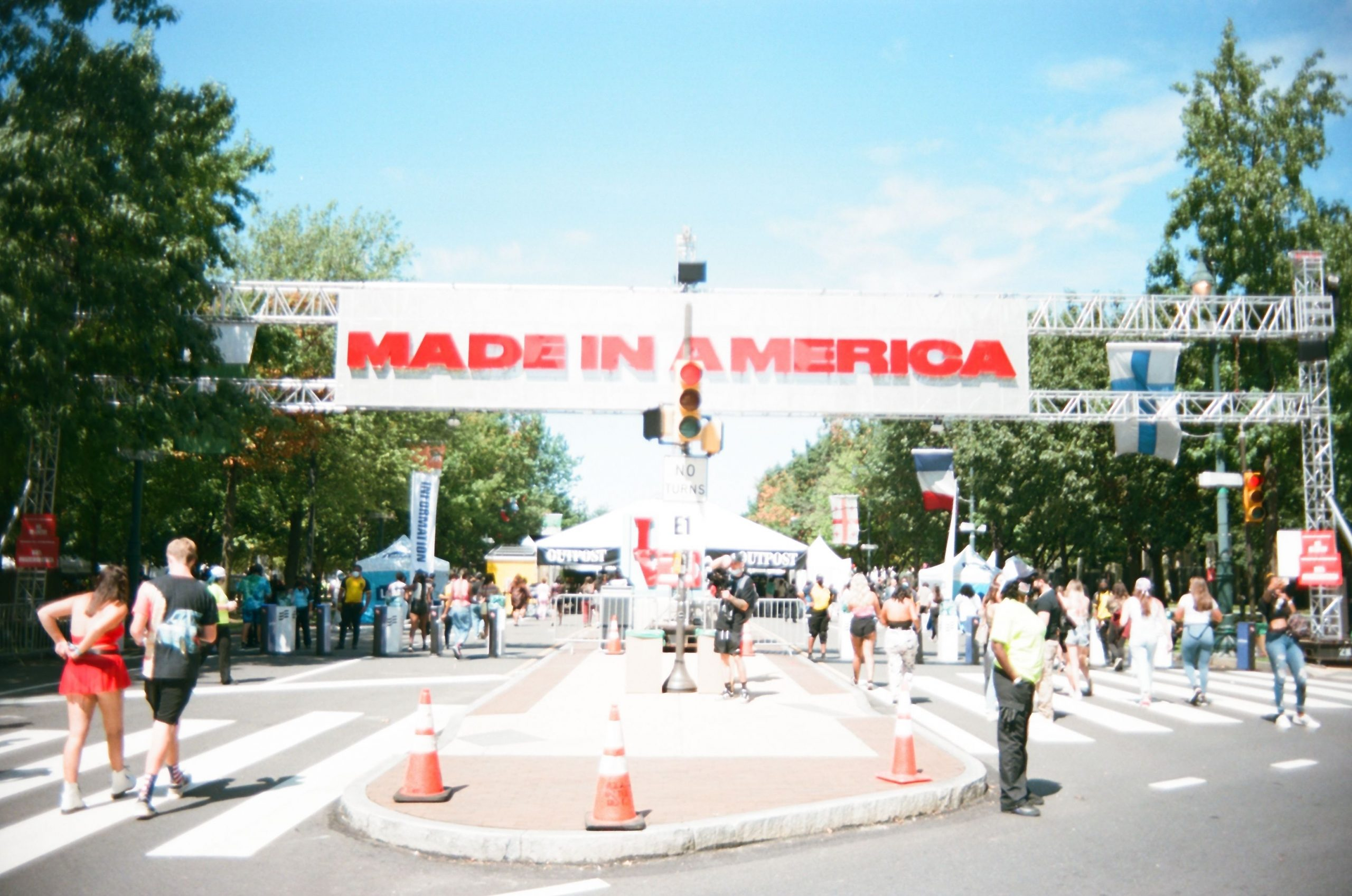 Made In America Entrance