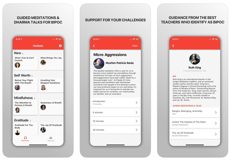 liberate app functionality