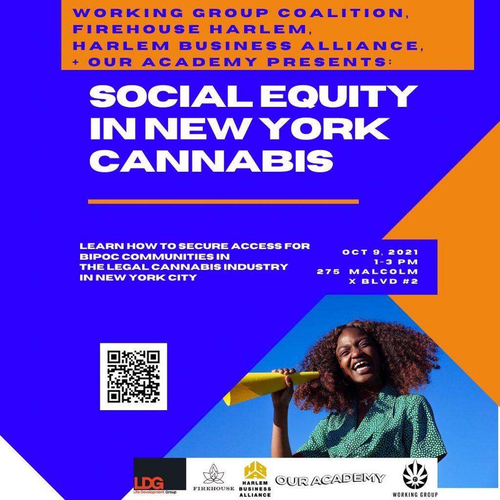 social equity cannabis event harlem