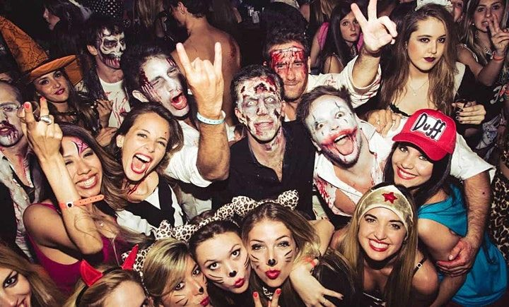 halloween party watermark