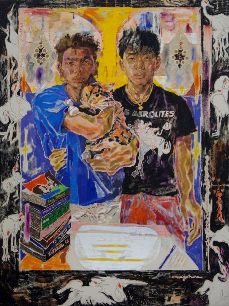 asian americ painting