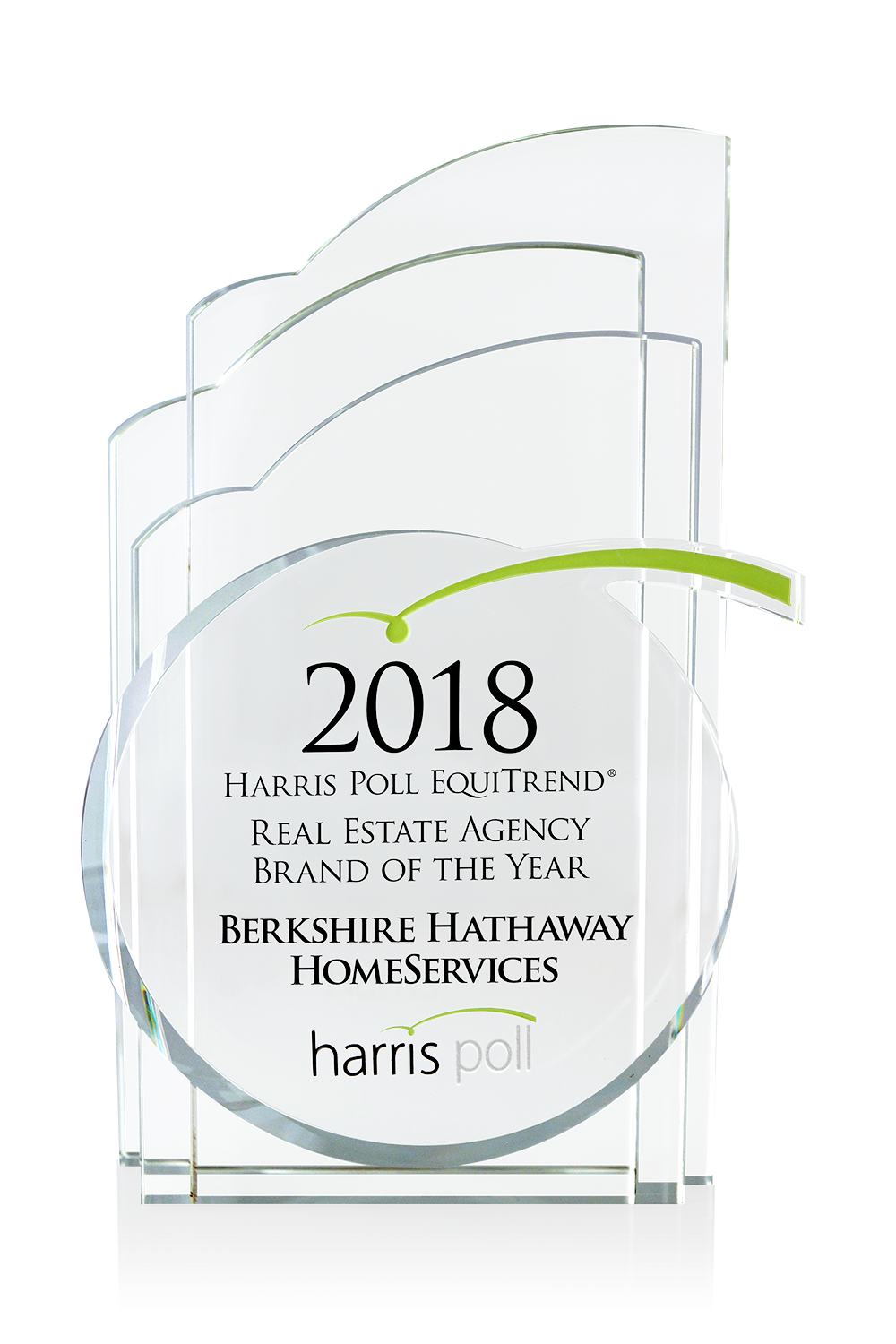 Harris Poll Real Estate Agency Brand of the Year 2018 award winner