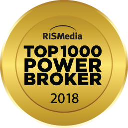 RIS Media Top 1000 Power Broker 2018 award