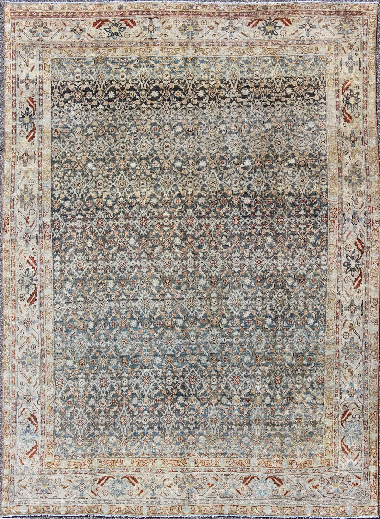 "Antique Malayer Rug - SUS-163 | Malayer - 8'7"" x 11'0"" 